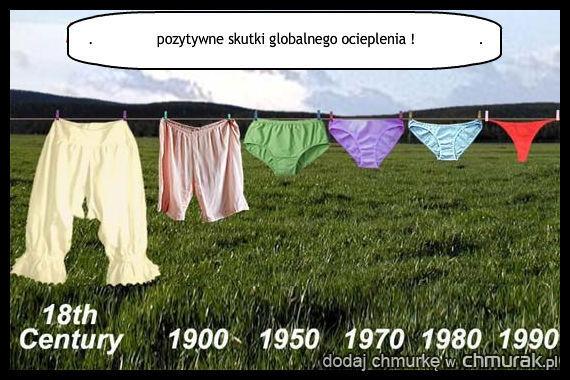 Pozytywne skutki globalnego ocieplenia