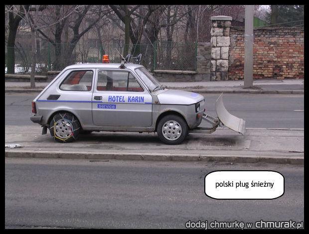 polski pług śnieżny