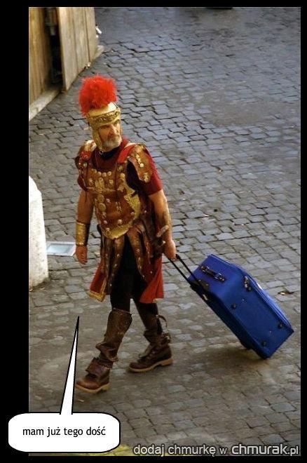 wkurzony rzymianin