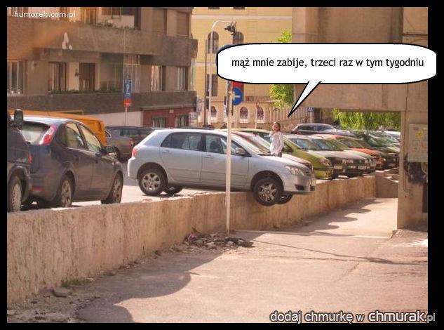 talent do parkowania