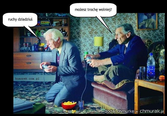konsola nie dla dziadka
