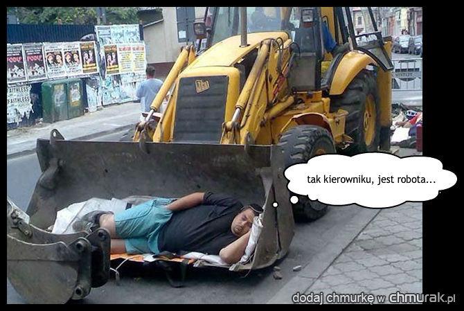 kolejny przykład polskiego robotnika