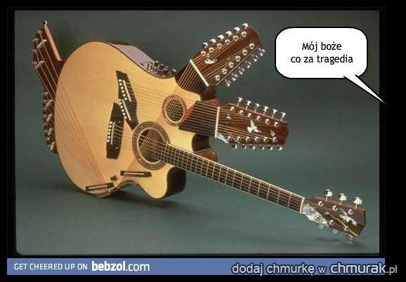 Tymczasem w Szpitalu Kijowskim urodziła się gitara z 3 gryfami, lekarze ogłosili datę operacji oddzielenia na wtorek...