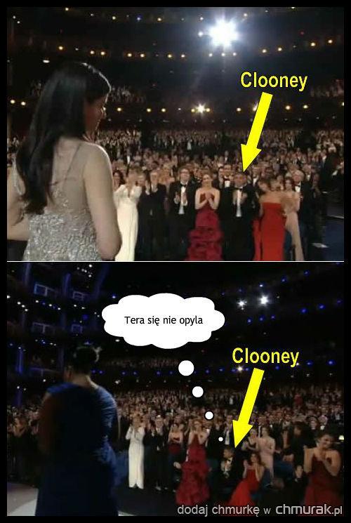 George Clooney i pewna zależność