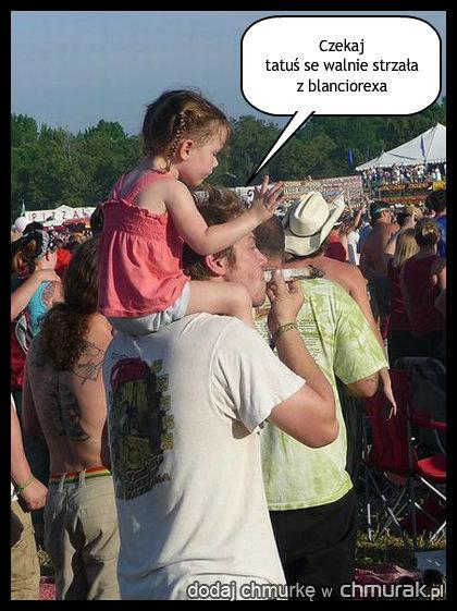 Tatuś, curusia i ...