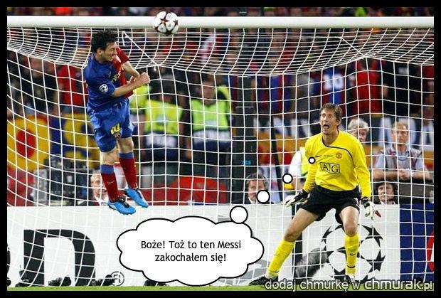 Messi lewituje