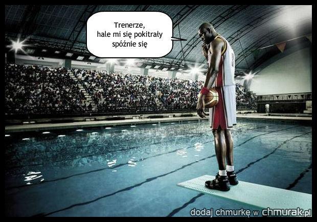 NBA na basenie?