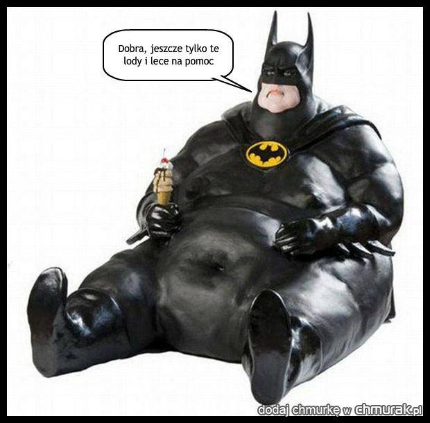 Batman w przerwie na lunch