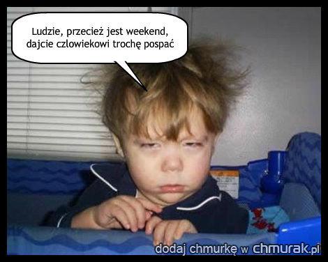 Sentencja na weekend!