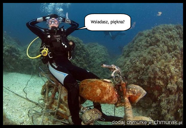 Podwodny podryw