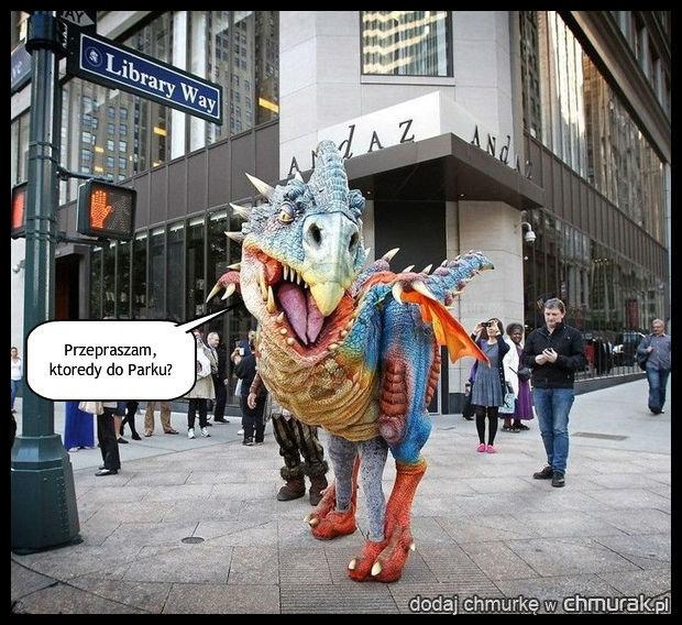 Zagubiony Dino