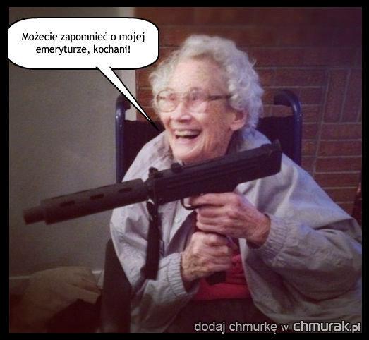 Babcia nie jest głupia...