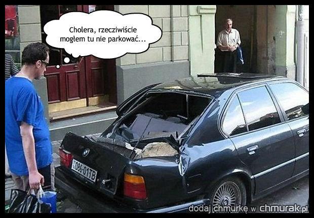 Nie łam zakazu parkowania