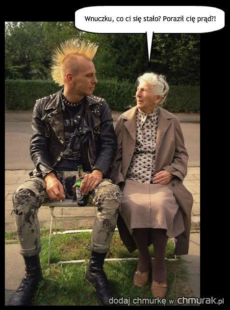 Punk i babcia