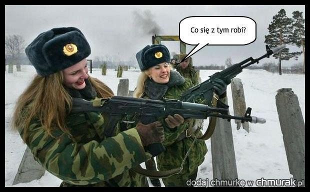Broń jest bardziej niebezpieczna w rękach kobiety