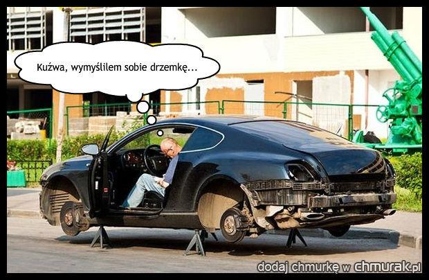 Lepiej nie zasypiać w takim samochodzie!