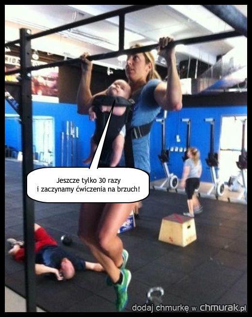 Supermama i dziecko-trener