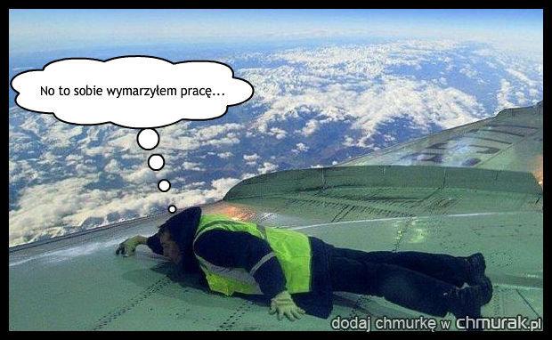 Chciał latać samolotami...