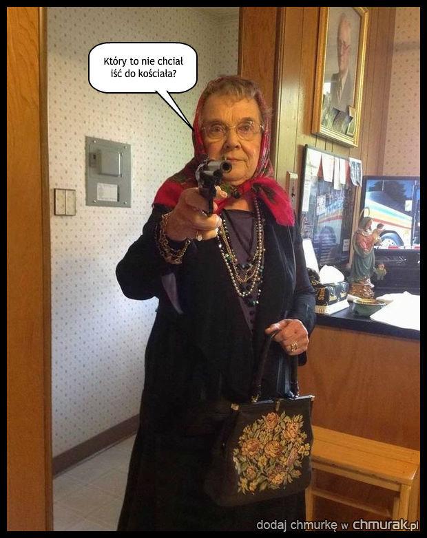 Ostra babcia