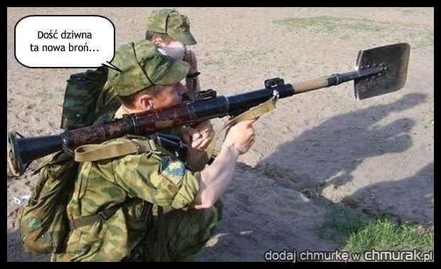 Wyrzutnia łopat?