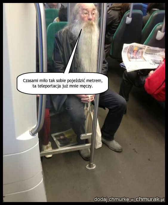 Albus Dumbledore wśród mugoli.