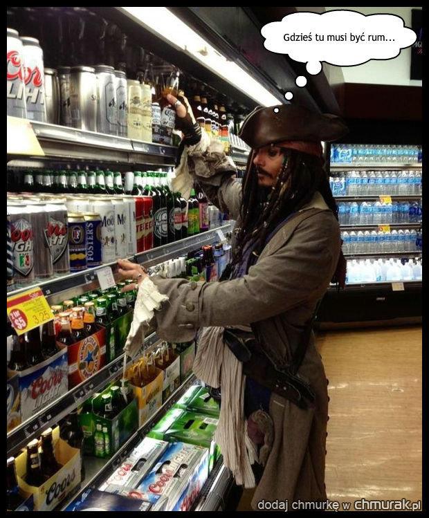 Co robi Jack Sparrow w sklepie?