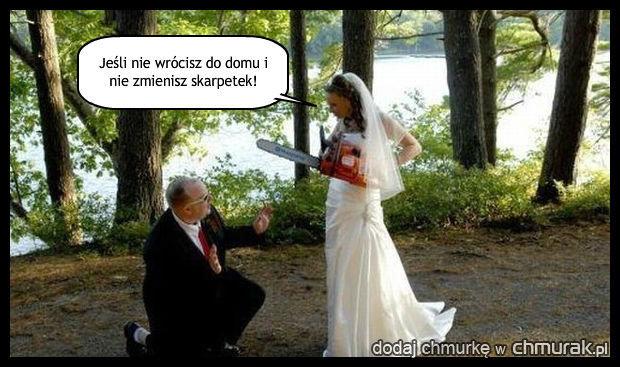 Nie będzie ślubu...