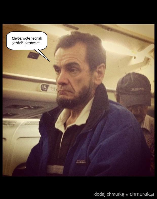Sceptyczne nastawienie Lincolna do samolotów.