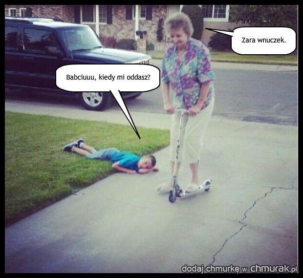 Wredna babcia