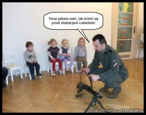 Kursy samoobrony w przedszkolu.