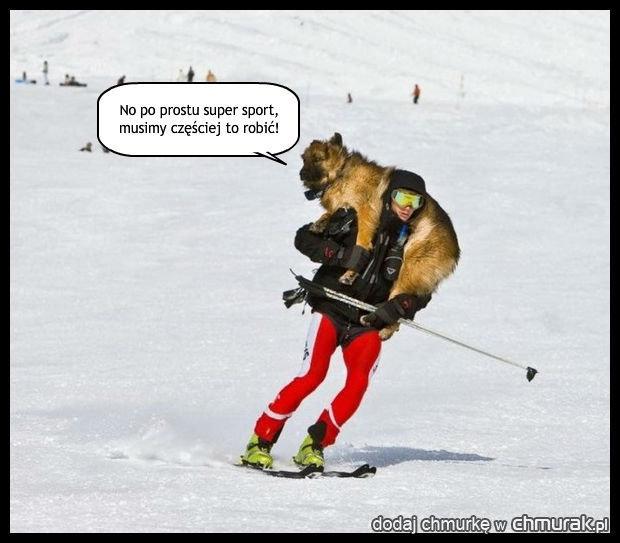 Fan narciarstwa.