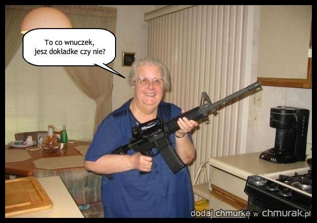 Groźna babcia