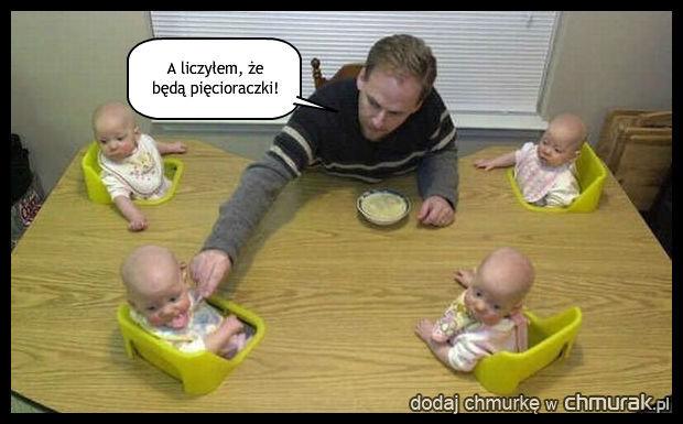 Tak mało dzieci!
