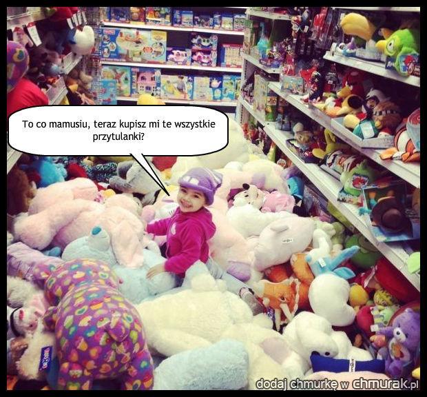 Nigdy nie bierz dziecka na zakupy.