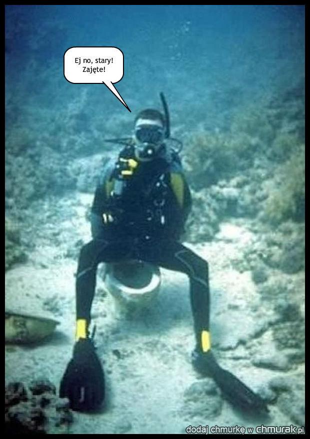 Podwodne wc