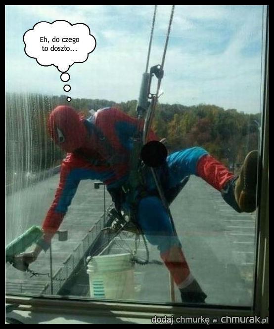 Zapomniany spider-man
