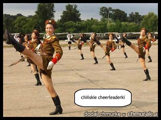 chińskie cheerleaderki