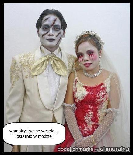 wampirystyczne wesela... ostatnio w modzie