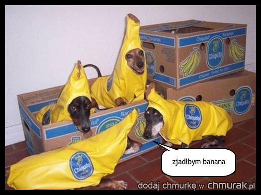 zjadłbym banana