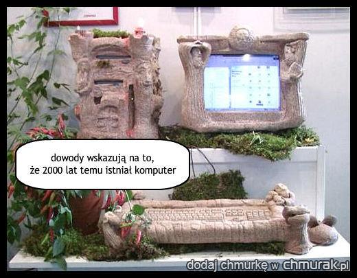 dowody wskazują na to, że 2000 lat temu istniał komputer