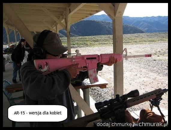broń dla kobiet