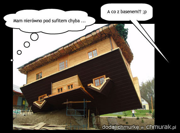 Dom bez fundamentu na chmurak.pl - prawda, że mamy śmieszne zdjęcia?