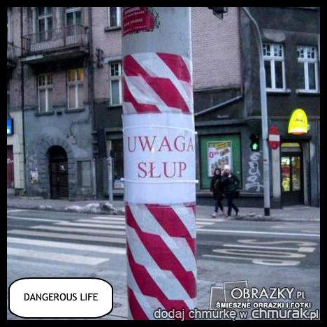 bo niebezpieczeństwa czyhają wszędzie
