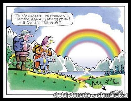 promowanie homo