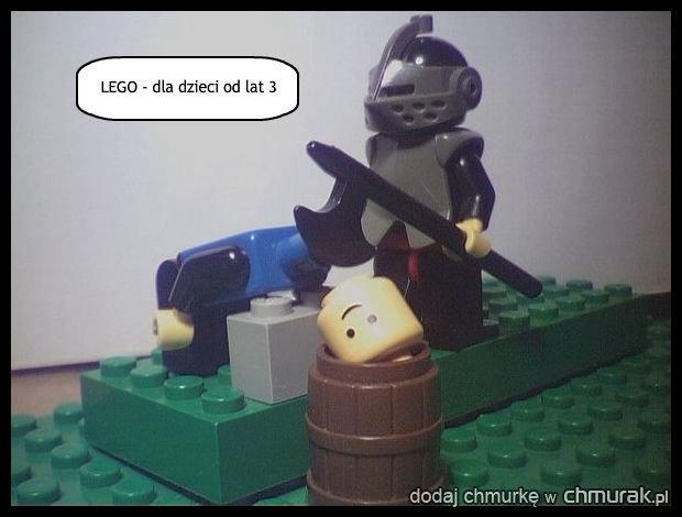 LEGO - dla dzieci od lat 3