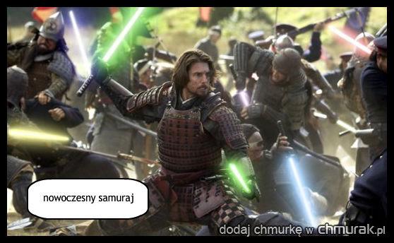 nowoczesny samuraj