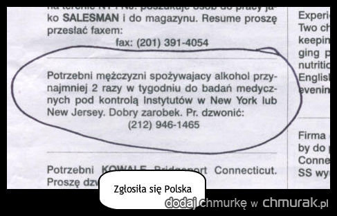 Zgłosiła się Polska