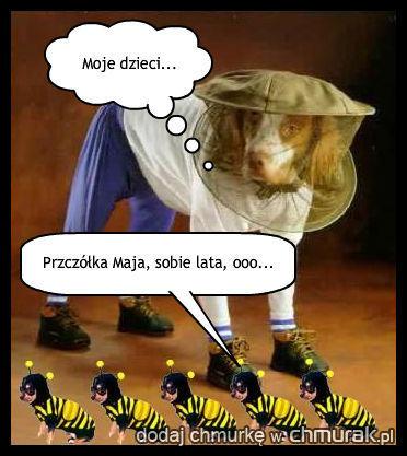 Pies pszczelarz xD